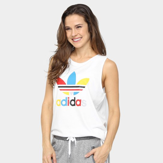 4829c31190a9a Camiseta Regata Adidas Loose Trefoil - Compre Agora