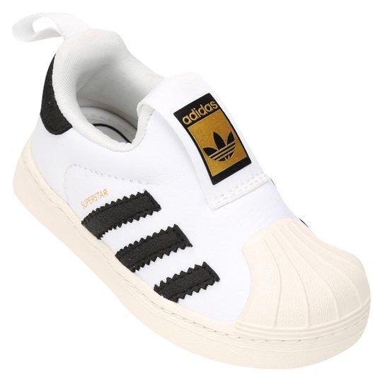 97a93c0b5 Tênis Infantil Adidas Superstar 360 - Branco - Compre Agora