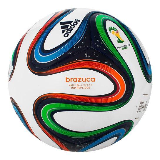 55a82f7bd4 Bola Fut.Campo Adidas Brazuca Top G73621 - Compre Agora