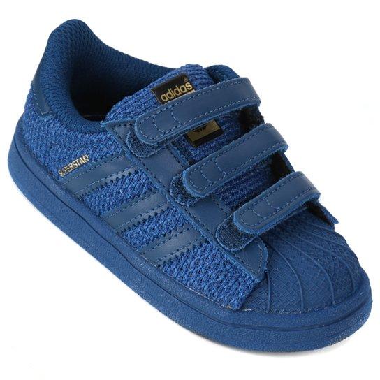 10c85aac38 Tênis Adidas Superstar Cf Infantil - Compre Agora