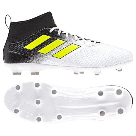 24ea929eb6 Chuteira Campo Adidas Ace 17.3 FG - Branco - Compre Agora