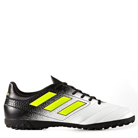 6843f48a72a96 Chuteira Society Adidas Ace 17.4 TF - Branco | Netshoes