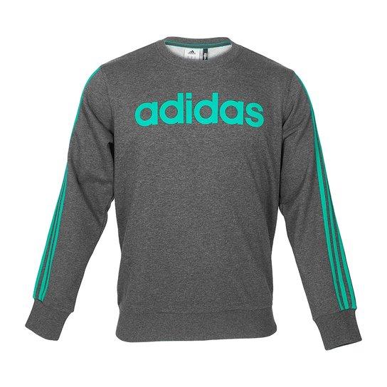 Blusa Adidas Lineage - Compre Agora  61e1b430ca802