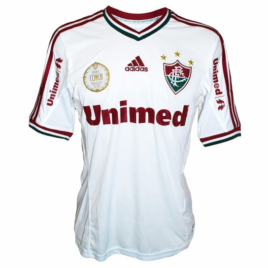 Camisa Adidas Fluminense Conca Selo Retrô - Compre Agora  7ec4555093fab
