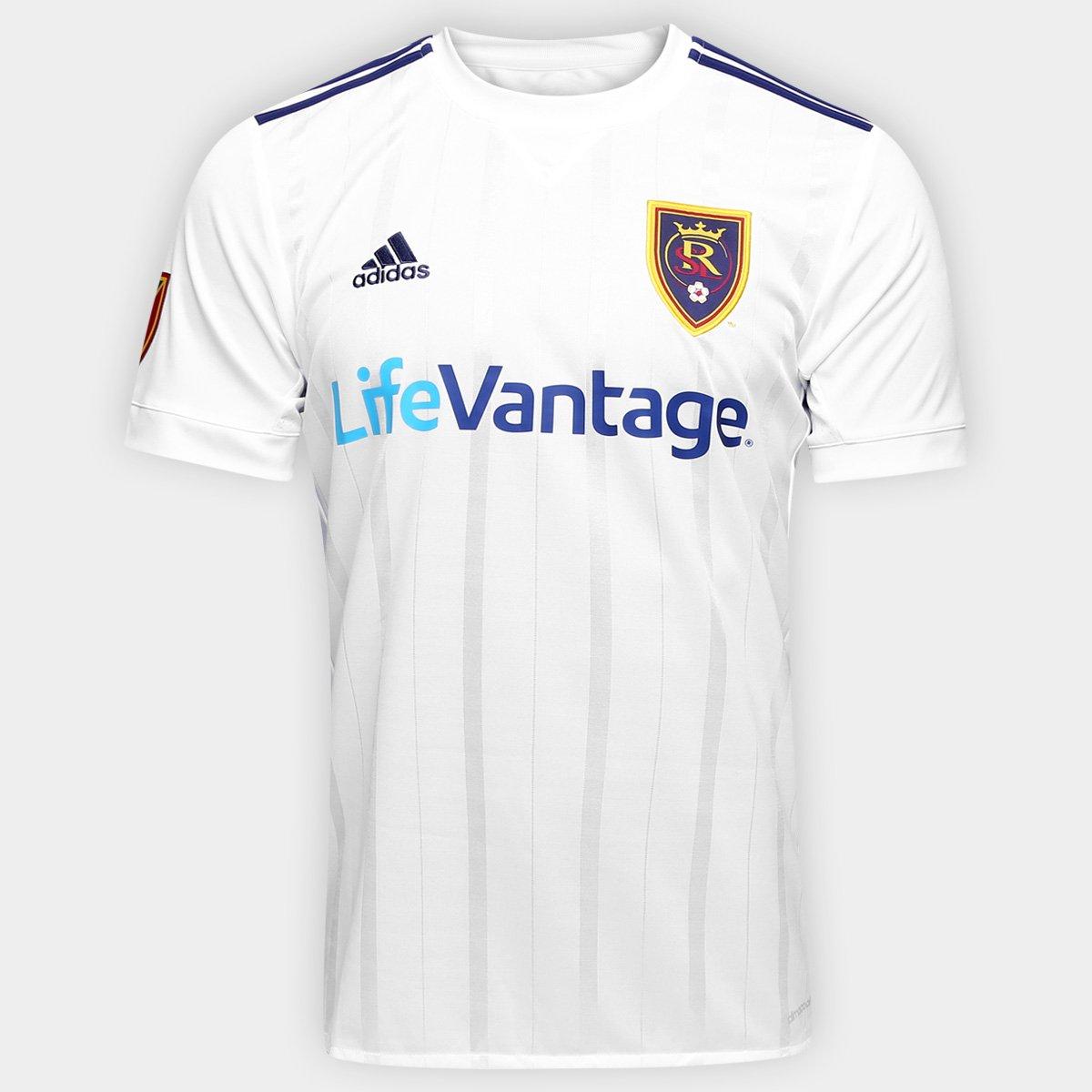 635bc5b65 Camisa Real Salt Lake MLS Away 17 18 s nº Torcedor Adidas Masculina