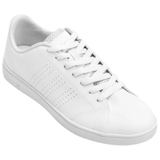 acd40531902 Tênis Adidas Vs Advantage Clean Masculino - Branco - Compre Agora ...