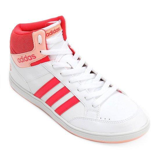 df2e51ec595a2 Tênis Adidas Hoops Mid K Infantil - Branco - Compre Agora