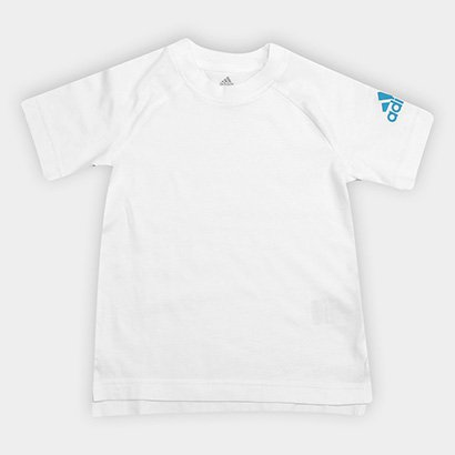 Camiseta Infantil Adidas Lb Cotton Masculina