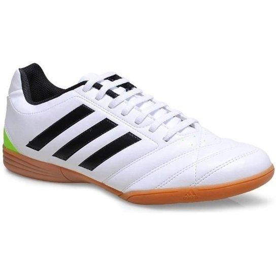 Chuteira De Futsal Adidas Goletto V In - Preto E Laranja - 42 - Branco b61a59b406131