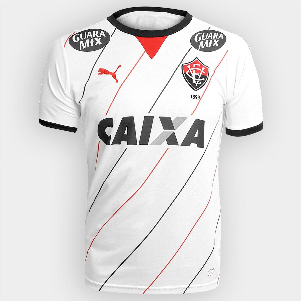 Camisa Vitória II 2015 s nº Torcedor Puma Masculina 143c5f1820b