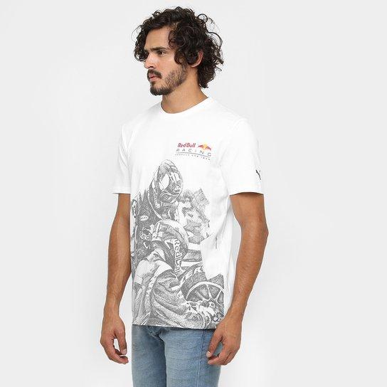 94a379ae929 Camiseta Puma Infinit Red Bull Racing Graphic 2 - Compre Agora ...