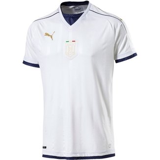 ac2c242100 Camisa Itália Away 16 17 s nº Torcedor Puma Masculina