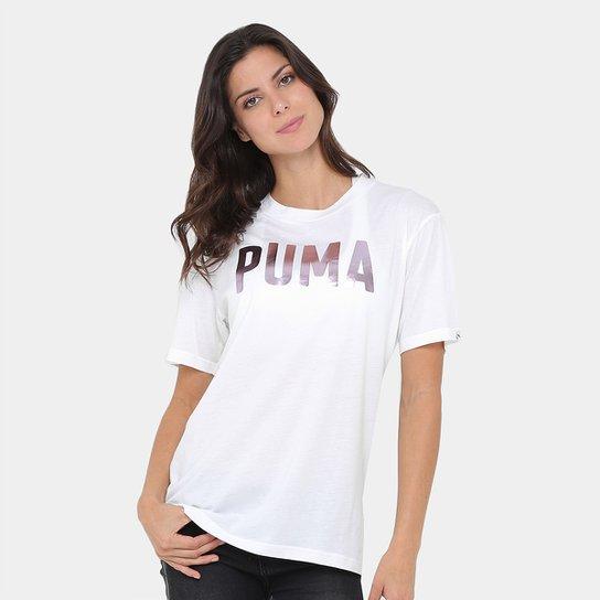60e959d2ab411 Camiseta Puma Fusion Bf Masculina - Compre Agora