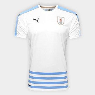 c4eb5e5477 Camisa Seleção Uruguai Away 17 18 s nº Torcedor Puma Masculina