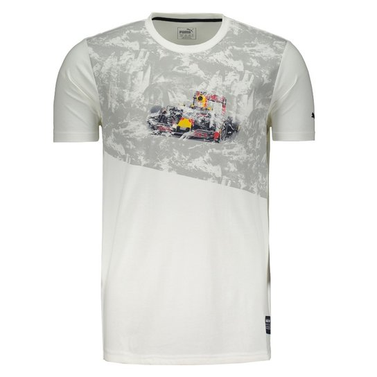 Camiseta Puma Red Bull Racing Graphic II - Compre Agora  34fa2fcf6c75b