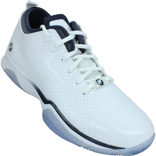 1a56151522 Tenis Puma Bmw Ms Whiplash Low 305891-02 - Branco | Netshoes