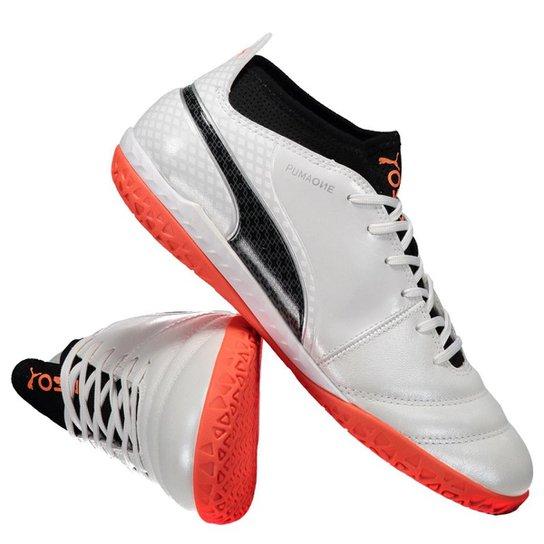 51685dca431bd Chuteira Puma One 17.3 IT Futsal Branca | Netshoes