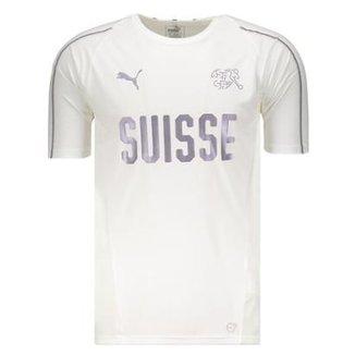 e592c559b5 Camisa de Treino Seleção Suíça Training Jersey Puma Masculina
