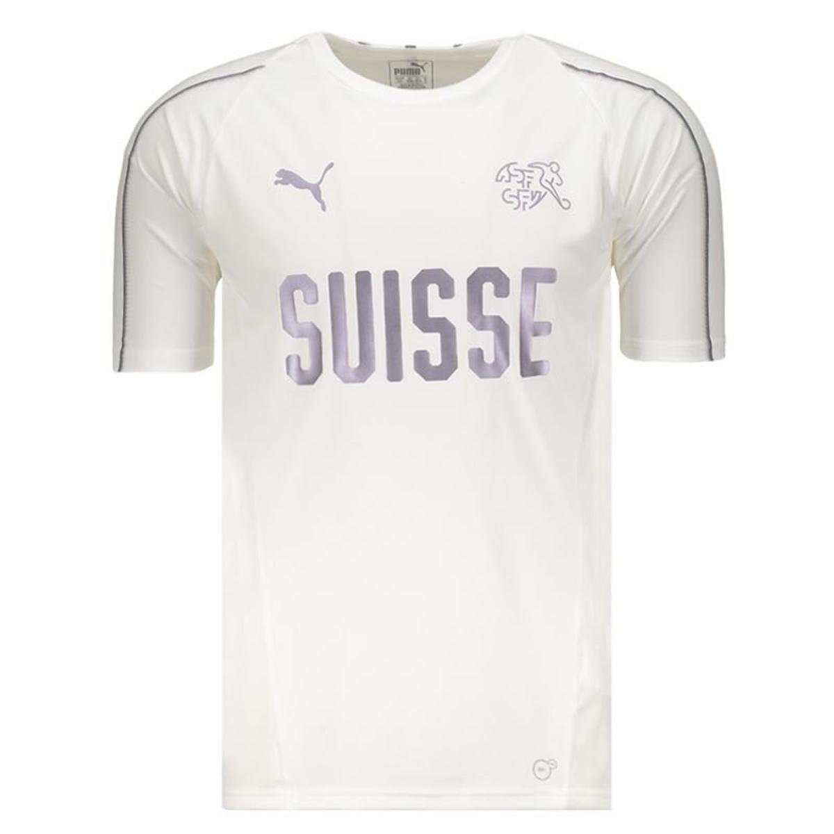 cfdd8f40b Camisa de Treino Seleção Suíça Training Jersey Puma Masculina