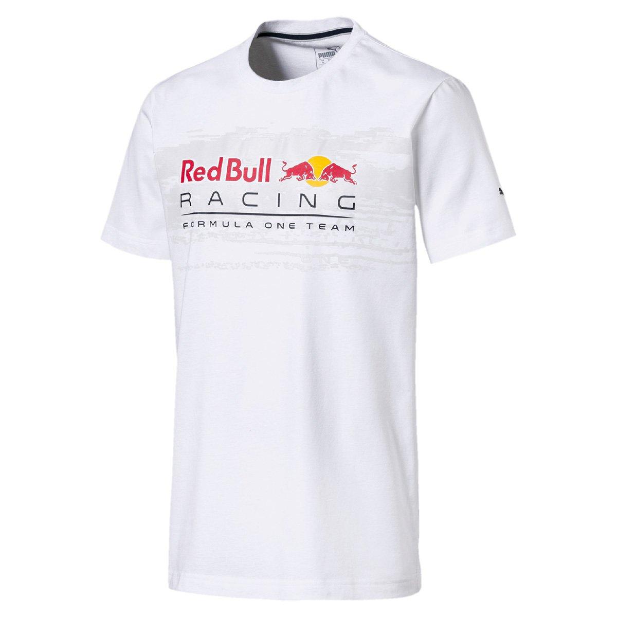 Camiseta Puma Red Bull Racing Logo Tee Masculina 0e8cefa2ba1
