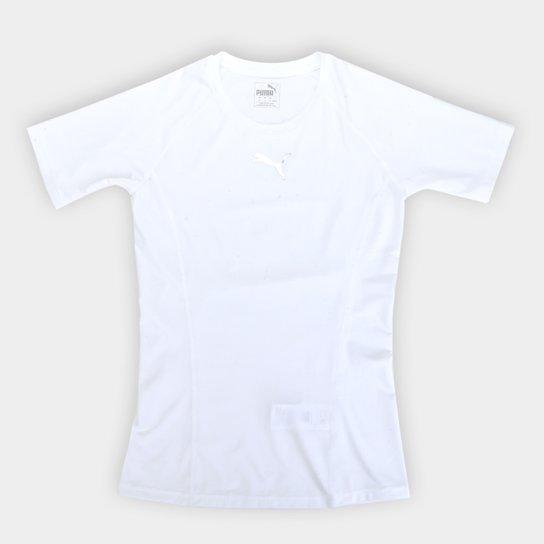 a1bf9bb71 Camiseta Puma Liga Baselayer Tee SS Masculina - Branco | Netshoes