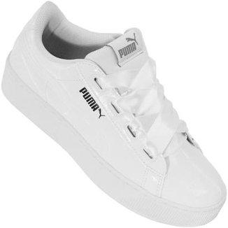 Compre Tenis+feminino+puma+branco Online   Netshoes 91d83c35f6