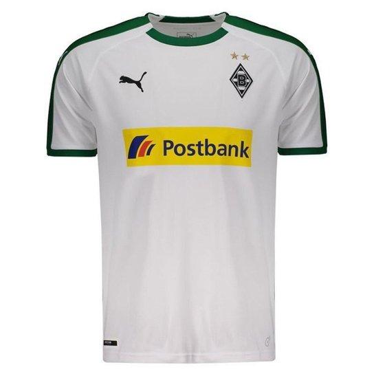 1a66d91bb Camisa Puma Borussia Monchengladbach Home 2019 N°10 Hazard Masculina -  Branco