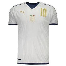 ebf5604a0b Camisa Puma Itália Away 2017 Tributo N°10 Verratti Masculina