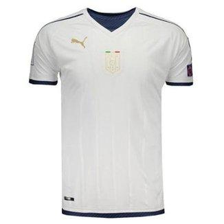 9fffeb215c98a Camisa Puma Itália Away 2017 Tributo Eliminatórias 2018 Masculina