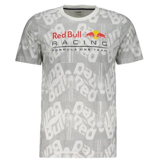 Camiseta Puma Red Bull Racing AOP Masculina - Branco - Compre Agora ... 5fc1b1ed1bb