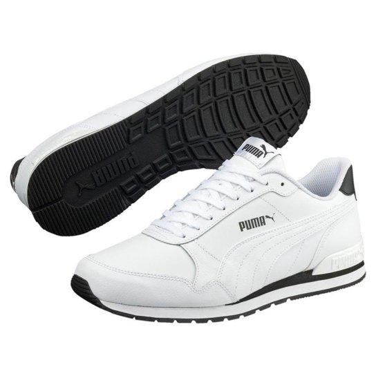 40262003911 Tênis Puma Runner Masculino - Branco - Compre Agora