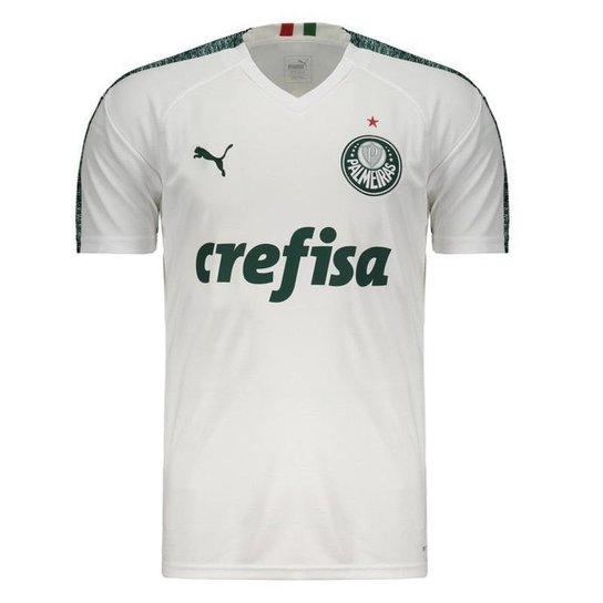 4839a007ba9 Camisa Palmeiras II 19 20 s n° - Torcedor Puma Masculina - Branco ...