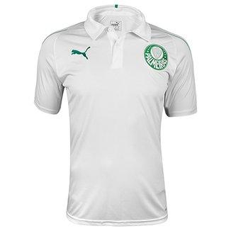 Camisa Polo Palmeiras 19 20 Puma Masculina f2edf1b289258