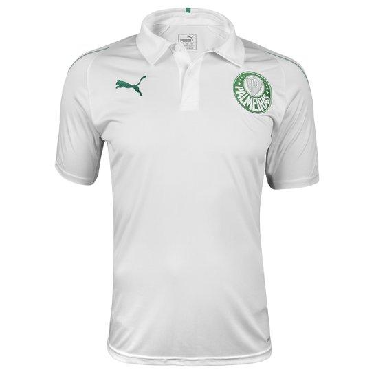 187c4bf56f571 Camisa Polo Palmeiras 19 20 Puma Masculina - Branco - Compre Agora ...