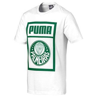 Camisetas Puma Masculinas - Melhores Preços  2d3f6d0afebc6