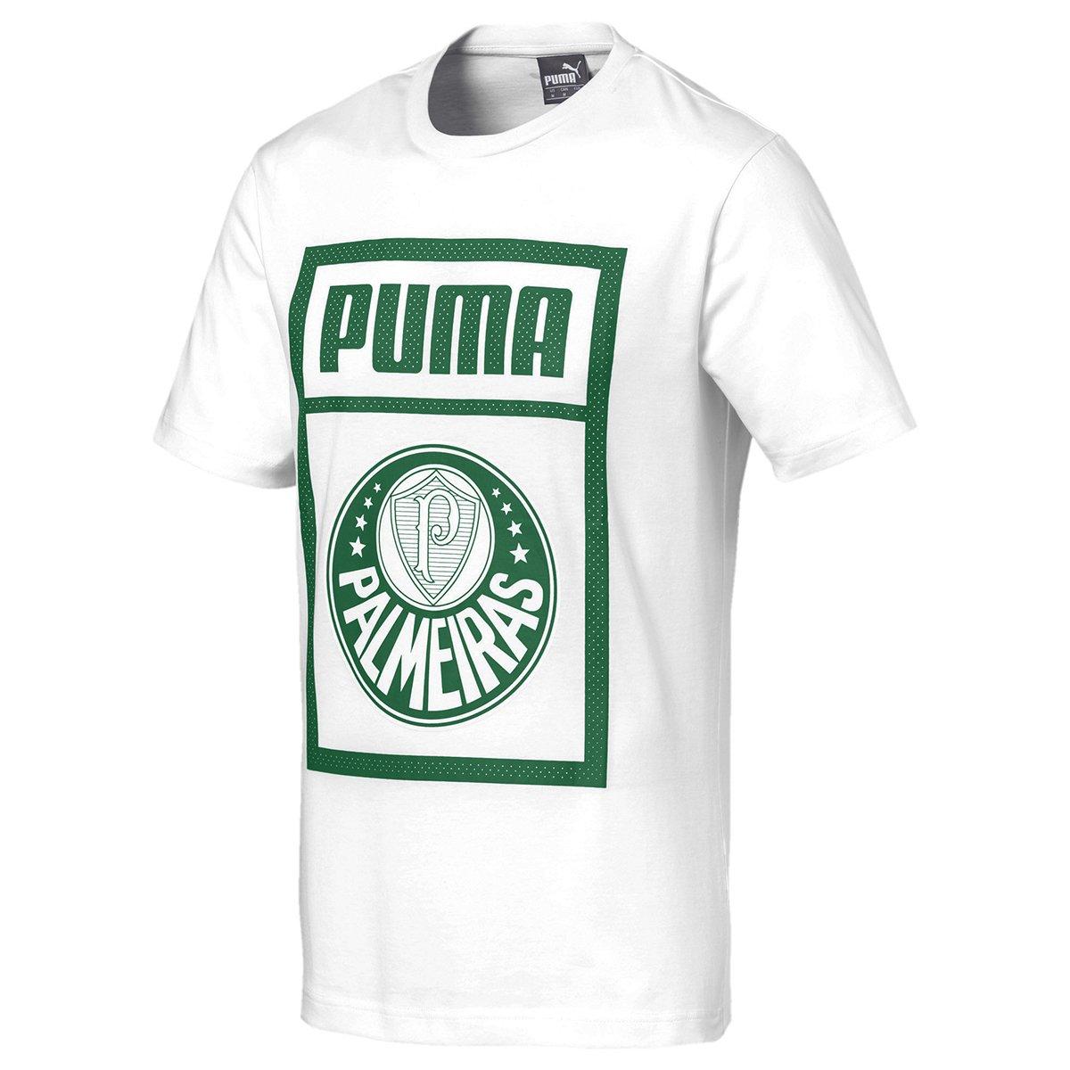 Camiseta Palmeiras Puma Graphic Masculina