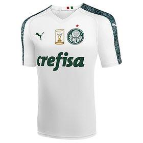 Camisa Palmeiras II 19 20 s n° - Torcedor Puma Patch Campeão Brasileir. 5050fe856b5e4
