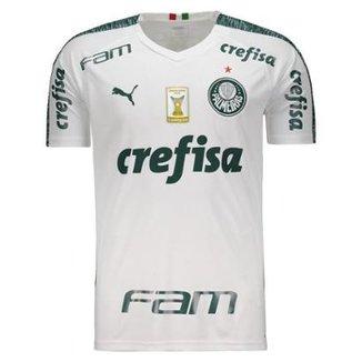 3ec068bb224 Camisa Puma Palmeiras II 2019 Com Patch Masculina
