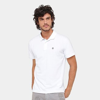 4b98503a64 Camisa Polo Timberland Ss Millers River Masculina