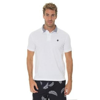 db14cafd26 Camisa Timberland Polo Millers River Pique Slim Masculina