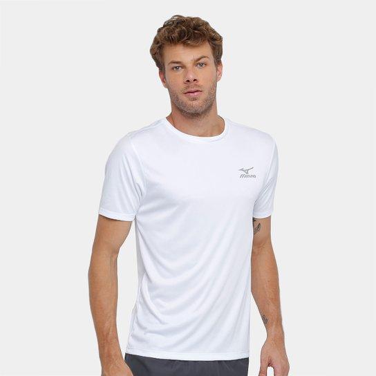 10ffb0b34f45c Camiseta Mizuno New Com Proteção UV Masculina - Branco - Compre ...