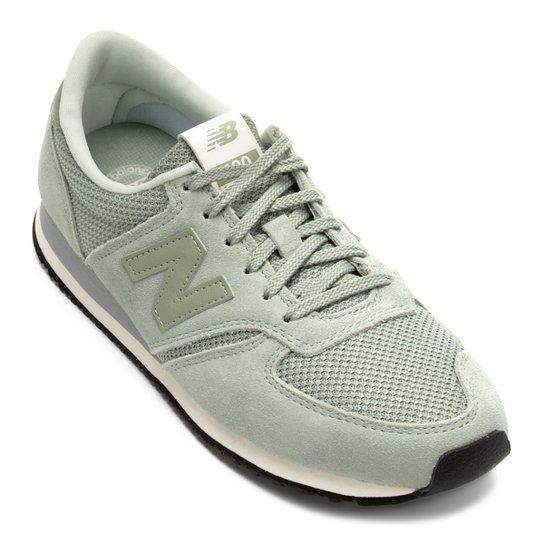 ef443ae7aaa Tênis Couro New Balance 420 Feminino - Branco e Verde - Compre Agora ...