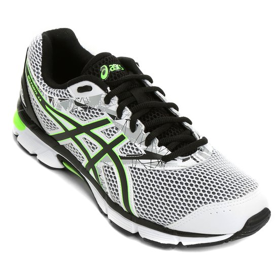 Tênis Asics GEL Excite 4 Masculino - Branco e Verde - Compre Agora ... c5b57e5c6350a