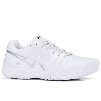 Compre Tenis Asics Gel Resolution 4 Ultra Azul Neon Amarelo E Branco ... d0258a9671040
