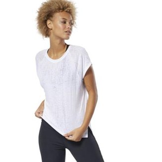 344fdd845c8 Camisetas Reebok Femininas - Melhores Preços