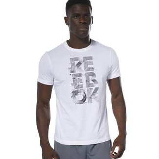 db8ca947885 Camisetas Reebok Masculinas - Melhores Preços