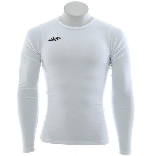 1a7317237b Camisa Térmica Manga Longa - Branca - UMBRO - Branco - Compre Agora ...
