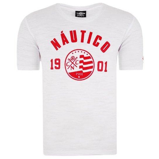 935f51db1 Camisa Náutico Casual Mono Badge - Umbro - Branco - Compre Agora ...