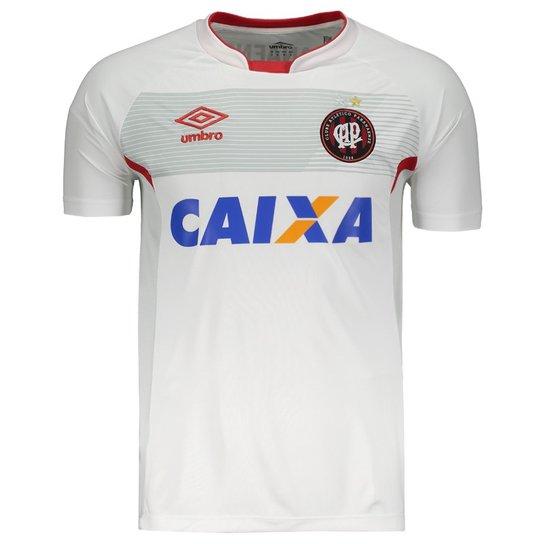 7593bb511b8 Camisa Umbro Atlético Paranaense Treino 2018 - Branco