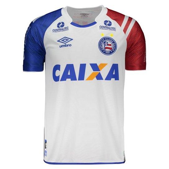5f83fc5f67e63 Camisa Bahia I 2017 N° 10 C  Patrocínio Umbro - Compre Agora